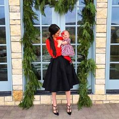 Red Shirt + Black Midi Skirt – Source by christmasmodeundich Casual Holiday Outfits, Cute Date Outfits, Christmas Party Outfits, Cool Outfits, Fashion Outfits, Edgy Outfits, Emo Fashion, Winter Outfits, Ladylike Style