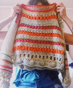 Crochet summer scarf haken 18 Ideas for 2019 – top crop , polos cortos , dress… – Babykleidung Cardigan Au Crochet, Gilet Crochet, Crochet Cardigan, Crochet Shawl, Crochet Lace, Crochet Stitches, Crochet Summer, Lace Sweater, Crochet Flower