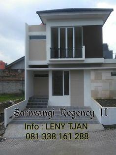 081338161288 - Jual Rumah Murah di Bandung Utara, Sariwangi Regency II. Konsep Minimalis Tropis. New Cluster