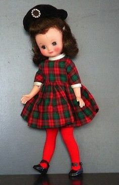 Standing only 8 inches tall, Betsy McCall utilized most of my time. (This is like the one I had.)  My grandma and mother made her clothes so I had a lot to keep me out of trouble.