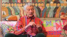 """This is """"Kaffe Fassett on Color"""" by Verity London on Vimeo, the home for high quality videos and the people who love them. Craft Images, Color Meanings, Sewing Art, Textile Art, Color Inspiration, Knitting Patterns, Weaving, Arts And Crafts, Colours"""