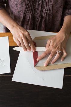 Bookbinding tutorial from Design Sponge