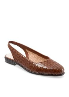 Trotters Brown Lucy Sandal