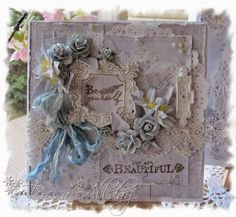 A beautiful card from a wonderful customer Teresa using products from http://www.scrapandcraft.co.uk