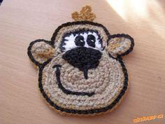 háčkovaná opička ála Next