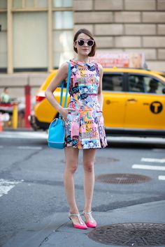 All of the best street style looks spotted at #NYFW over the weekend:
