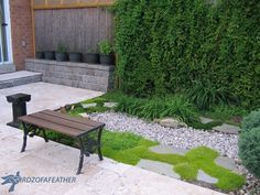 Get gorgeous backyard privacy without putting up a fence—and it takes just 2 hours to make!