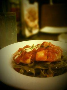 Spinach Spaghetti and Lime Squash