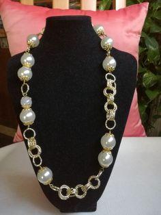 1982 melhores imagens de Colares de jóias   Scarf jewelry, Scarf ... f9704169f8
