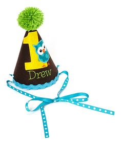Personalized Birthday Party Hat