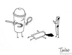 Ilustrações divertidas de Shanghai Tango