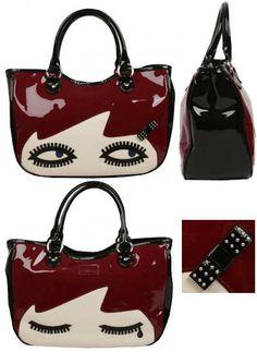 Lulu Guiness Wanda Face handbag - oh so my biggest handbag wish.....