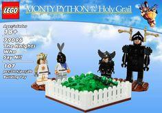 Sacré Graal version Lego. Ni !