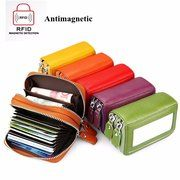 Hot-sale Universal Ultrathin PU Leather Vertic Long Wallet Purse 15 Card Slots Multi-Slots Phone Bags - NewChic Mobile