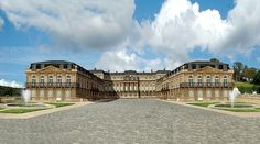 The Reconstruct Saint-Cloud Association's 3D image of the reconstructed chateau