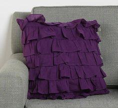 I love Purple & Gray. Ruffles are Adore.