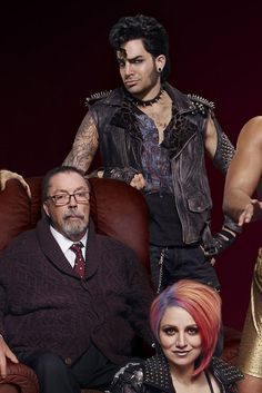 """Adam Lambert as """"Eddie"""" RHPS"""
