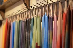 Candles Hanging at Craftsman House Gallery by Fifth World Art, via Flickr