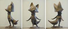 Esculturas de The Dam Keeper, por Andrea Blasich