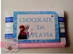 Lollita Cereja: Chocolate Personalizado Frozen