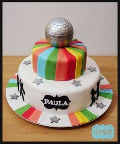 cake 80's / disco