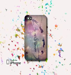 Peter Pan Quotes Never Grow Up  Photo on Hard case for by Rorida, $13.99
