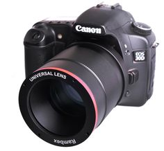 Canon EOS 30D with universal lens