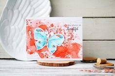 because of scrap: You are always so Thoughtful. CaS CARD
