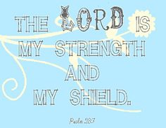 Psalm, The Lord is my strength and my shield