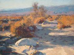 Mark Kerckhoff January, Anza Borrego Desert, Along the Smoke Tree Wash