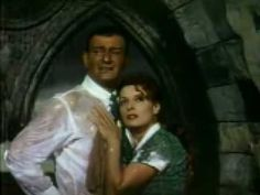 """Maureen O'Hara and John Wayne in """"The Quiet Man."""" The single most passionate scene I've ever encountered on film."""