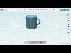 RealDream Design en kop i 123d design - YouTube