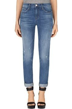 J BRAND 1207 Allyn Boy Fit Jeans Cherish Boyfriend Jeans 29 Denim Anthropologie…