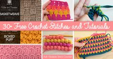 There is always something new in Crochet Stitches. Thousands of designs from different communities all over the globe serve a wide platter of innovative