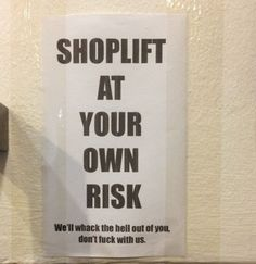 SHOPLIFTING Quotes Like Success