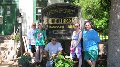 Gwen earned her Girl Scout Gold Award by organizing updates for the historic Newport Public Library when it re-opened.