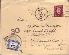 antique envelopes and calligraphy