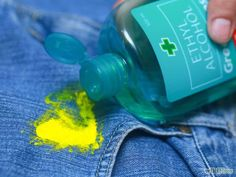 Remove Acrylic Paint, Remove Acrylics, Black Acrylic Paint, Remove Paint From Clothes, Painted Clothes, Paint Run, Paint Stain, Diy Cleaning Products, Cleaning Hacks