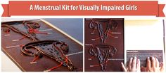 A Menstrual Kit for Visually Impaired Girls | Menstrupedia Blog