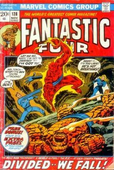 Fantastic Four # 128 by John Buscema & Joe Sinnott