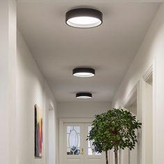 Design Up Down Wand Leuchte mit gelbem Farbfilter Flur Wohn Schlaf Zimmer Lampen