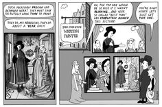 Cartoonist Peter Duggan applies a fresh coat of paint to art history with his take on Flemish painter Jan van Eyck's Arnolfini Portrait (also known as The Arnolfini Marriage)