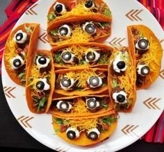 See our collection of silly, spooky and fall-inspired Halloween party foods and ideas at http://Food.com.