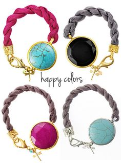 summer bracelets by the style files, via Flickr