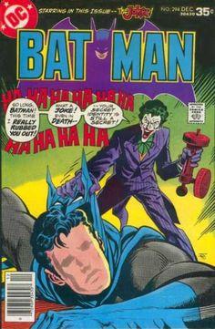 Batman #294    art: Jim Aparo