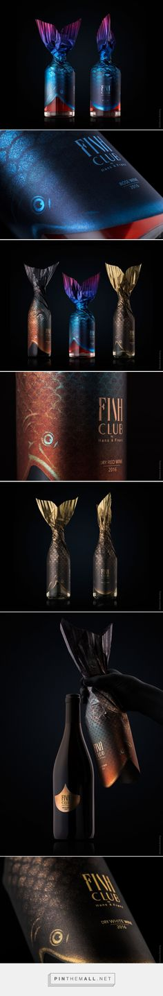 Creating the Brand Identity and Concept of a Seafood Specialised Restaurant PACKAGING DESIGN World Packaging Design Society. Glass Packaging, Simple Packaging, Brand Packaging, Packaging Design, Wine Design, Bottle Design, Design Visual, Toyama, Clever Design
