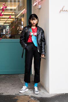 Yoo Eunsol, Street Fashion 2017 in Seoul