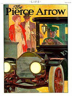 1910 Pierce Arrow Ad