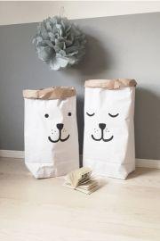 Tellkiddo opbergzak 'Paper Bag Sleeping Bear'