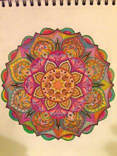 ColorIt Mandalas to Color Volume 1 Colorist: Melody Jones #adultcoloring #coloringforadults #mandalas #mandala #coloringpages